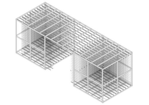 Arca modulo doppio