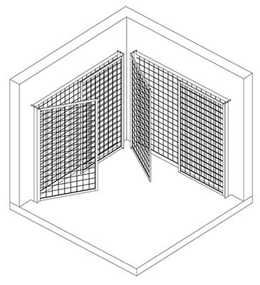 Arca-a-parete-assonometria